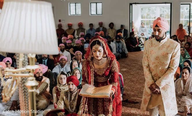 Maharani entering at wedding ceremony ritual.