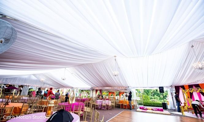 Indian wedding draping for venue  Sealing .