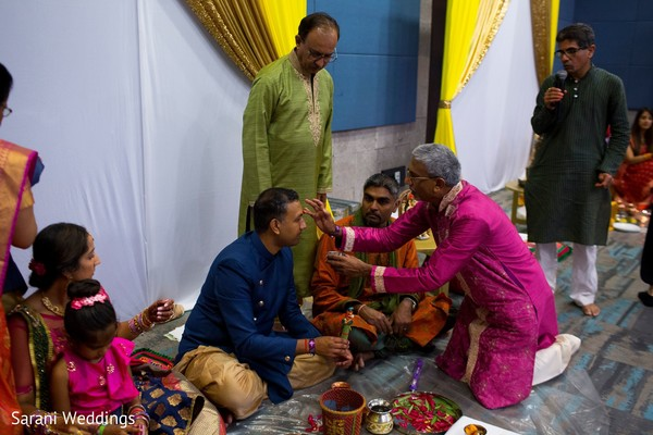 Pre-wedding indian rituals.