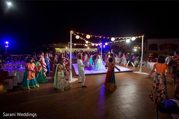Indian Sangeet pre-wedding celebration.
