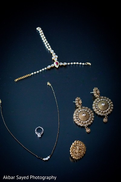 Indian bridal ring and wedding jewelry.