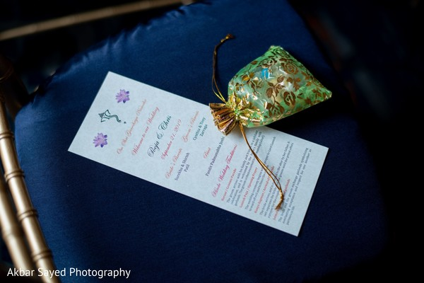Indian wedding personalized ceremony guide.