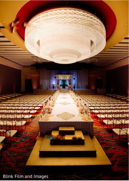 A take of the wedding hall