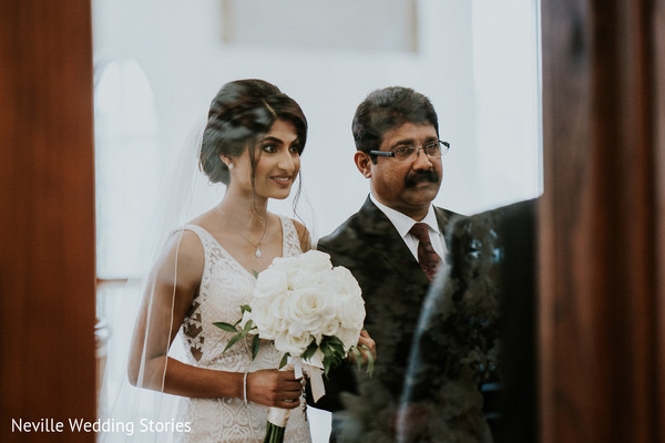 Maharani and father big wedding ceremony entrance.
