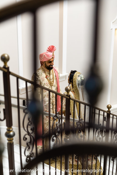 Maharani and Raja during photo shoot.