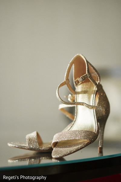 Shoes worn by maharani.