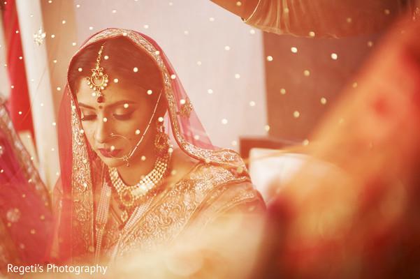 Maharani behind the veil.