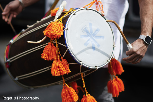 Drums used during the Baraat.