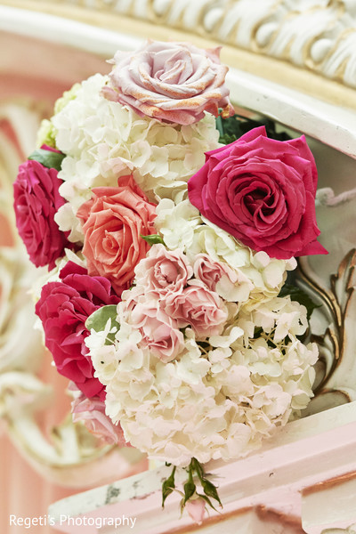 Flower decoration used during reception.