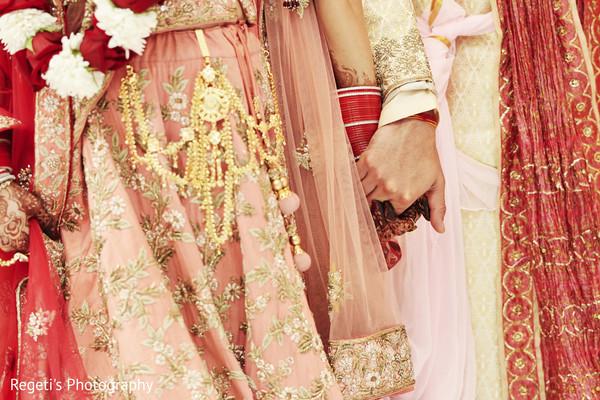 Maharani and Raja hands.