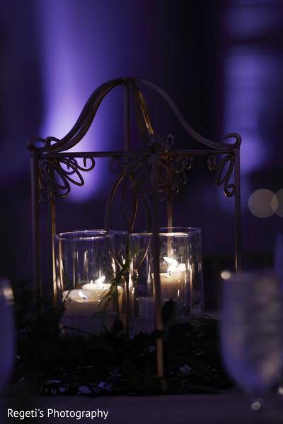 Candle decoration.