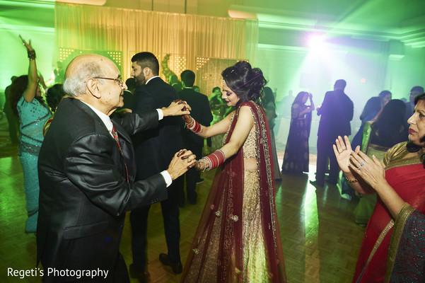 Maharani dancing with a relative.