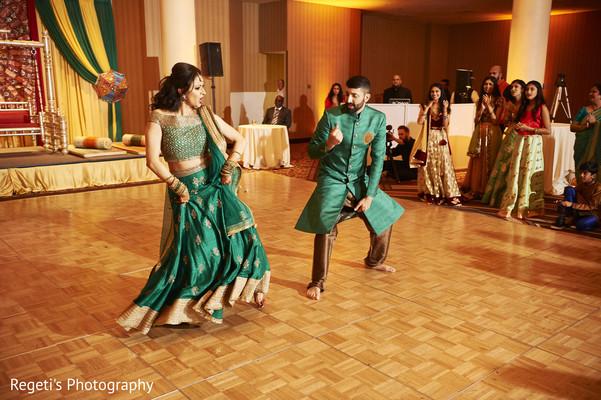 Maharani and Raja's dance moves.