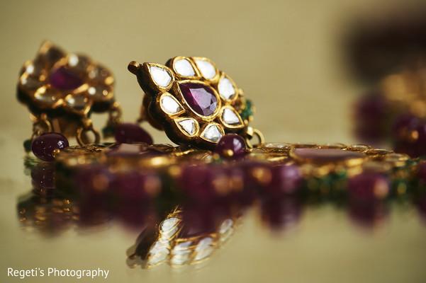 Jewels worn by Maharani.