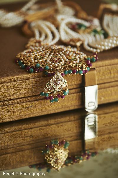 Maharani's jewelry.
