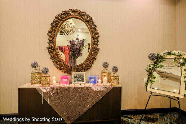 A decorated space on the venue