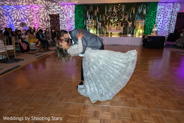 Indian couple's first dance grand finale