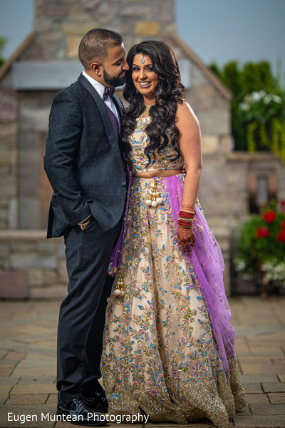 Maharani in reception dress