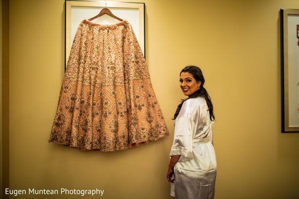 Maharani getting her lengha ready