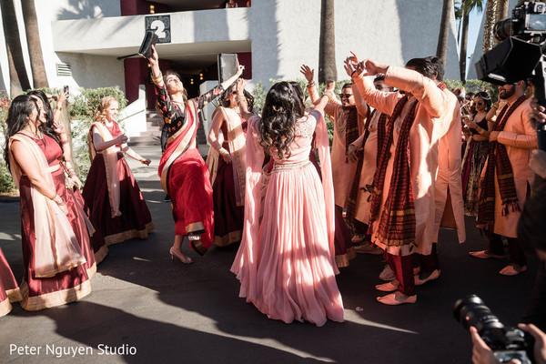 Baraat procession celebration capture.