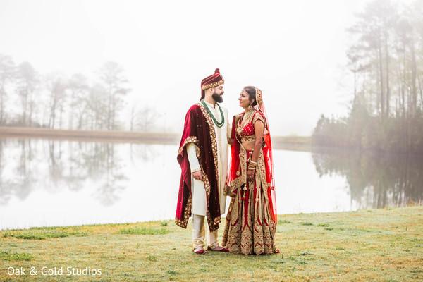 Most romantic Indian wedding photo shoot