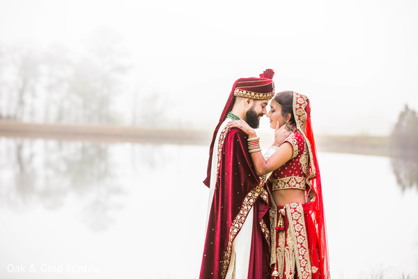 Beautiful indian couple's portrait