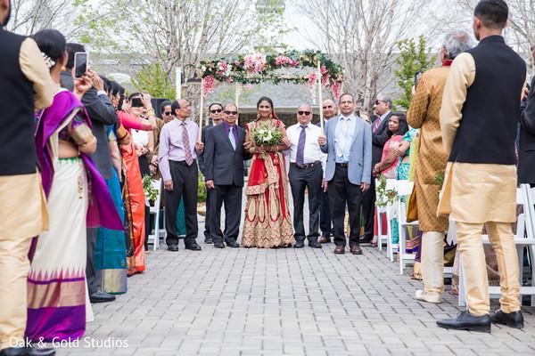 Lovely Maharani's entrance