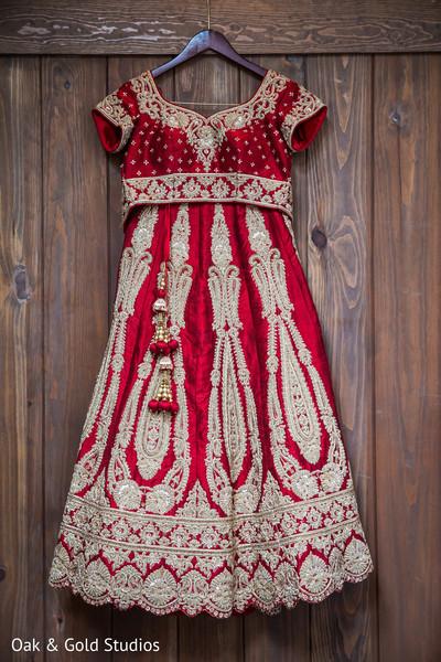 Ravishing indian bride's lengha