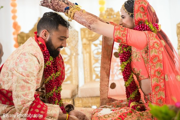 Traditional indian wedding ceremony rituals.