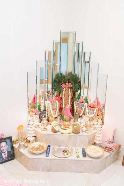 Indian Gods altar decoration.