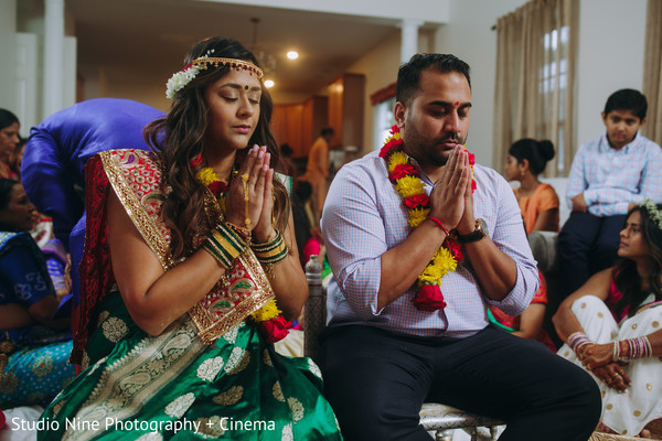 Maharani at her pre-wedding haldi ceremony.