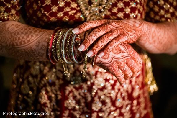 Maharani's henna art and chooras.
