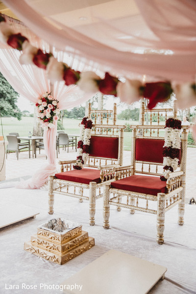 Stunning Mandap ceremony decoration