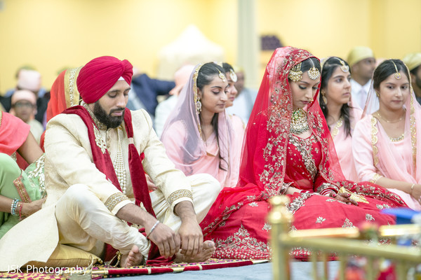 Indian Sikh wedding ceremony capture.
