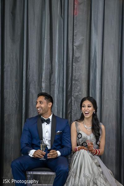 Indian wedding cheers capture.