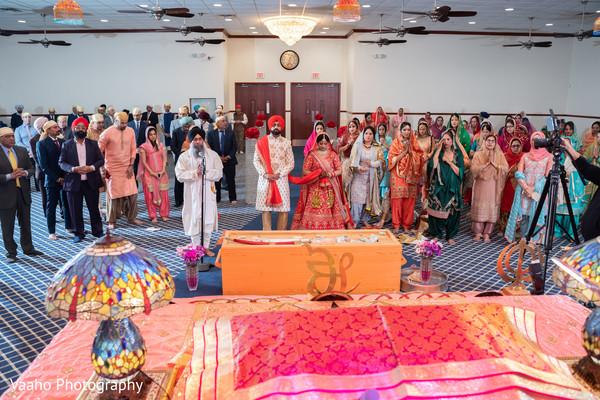 Sikh Indian wedding cermony  celebration.