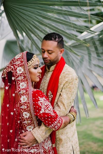 Indian couple hugs photography.