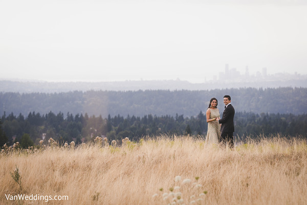 Most romantic outdoors photo shoot