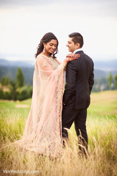 Romantic Indian couple