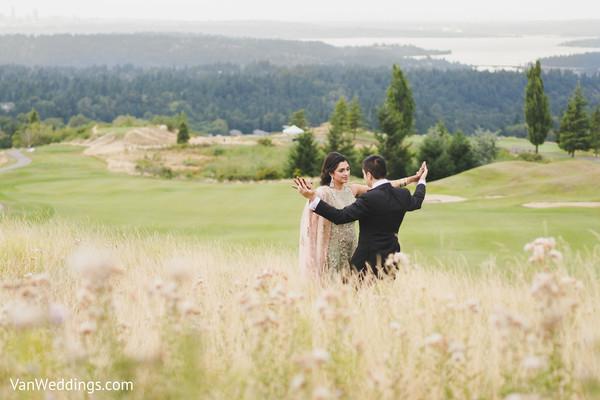 Inspiring Indian wedding outdoor photography.