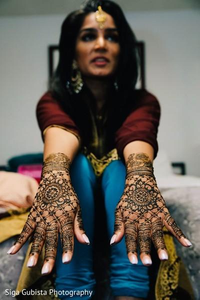 Indian bridal marvelous henna art