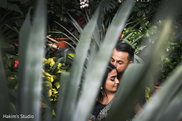 Romantic Indian couple photo session.