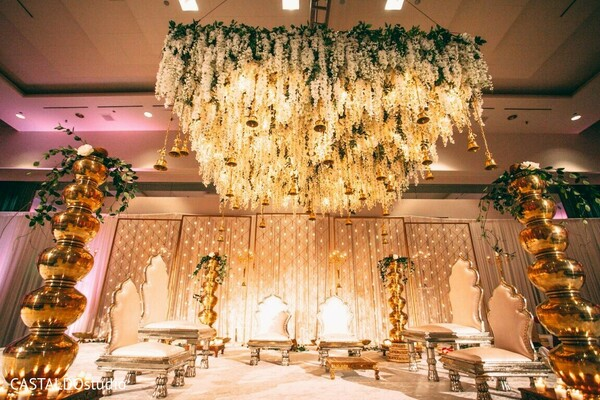 Indian wedding ceremony floral and decor,
