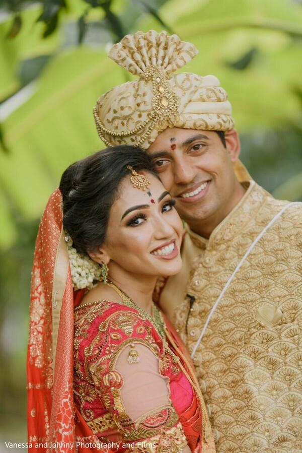Indian couples portrait.