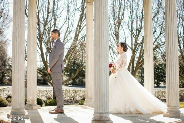 Maharani surprising her groom