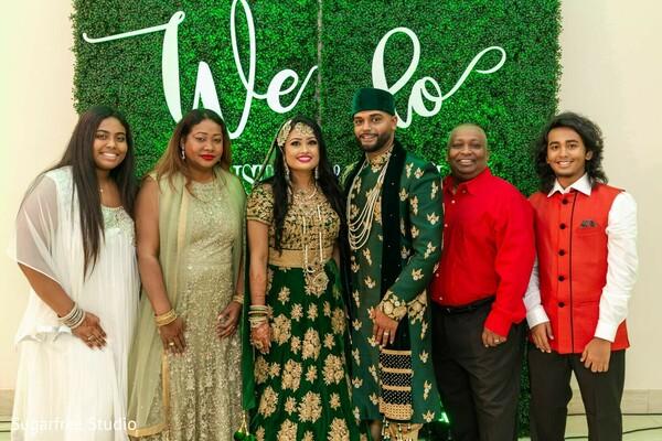 Indian wedding family photography.