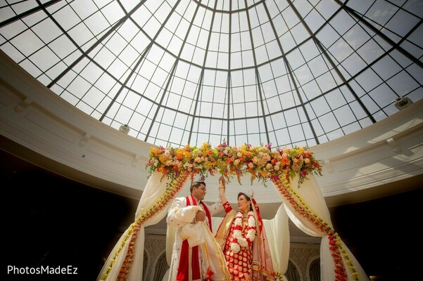 Indian couple just married capture.