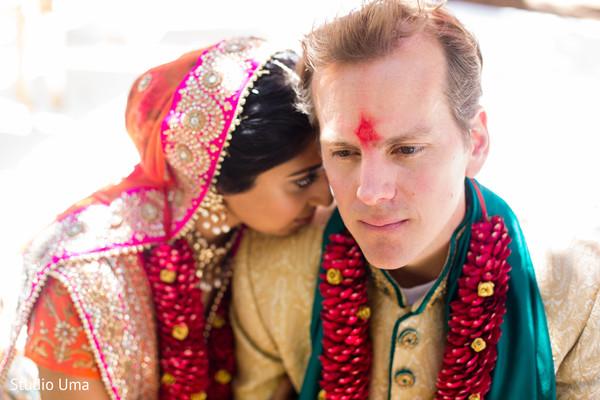 Indian wedding portraits in Austin, TX Indian Fusion Wedding by Studio Uma