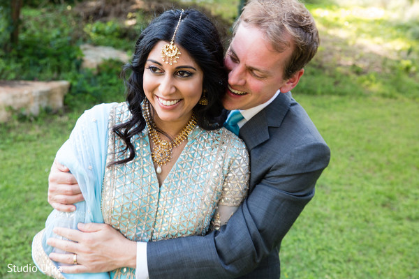 Reception portraits in Austin, TX Indian Fusion Wedding by Studio Uma