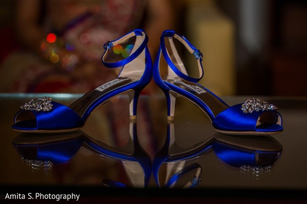 Shoes in Orlando, FL Indian Wedding by Amita S. Photography